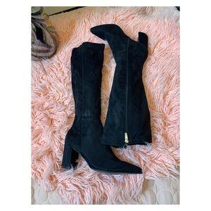 Marc Fischer tall heeled black boots 9